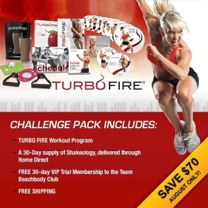 Turbo Fire challenge pack August sale