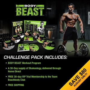 Body Beast challenge pack August sale